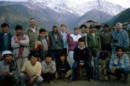 In 1994,  Thirdpole treks organizing the trek to ABC