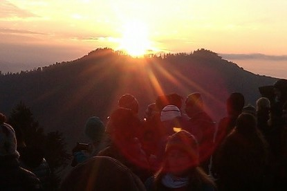 Epic Sunrise view from Poon Hill