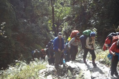 The Trek iwas excursion by MD - Deepak Mahat