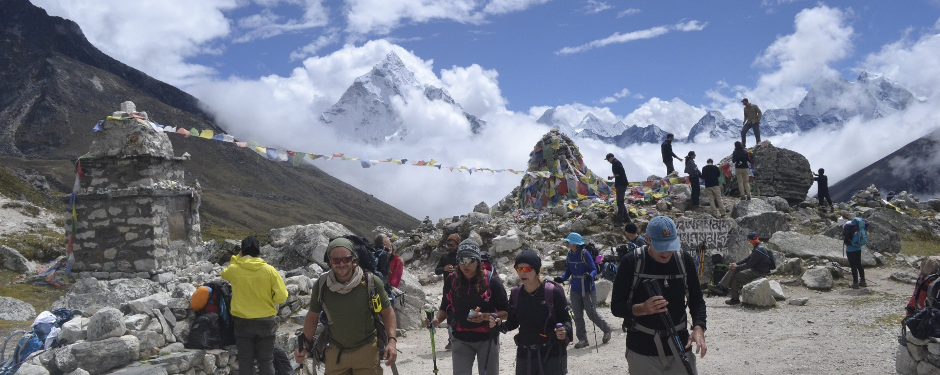 Everest Base Camp from Sallery