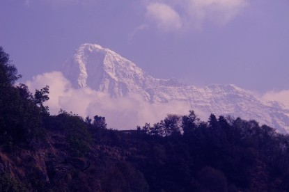 Rising Annapurna South