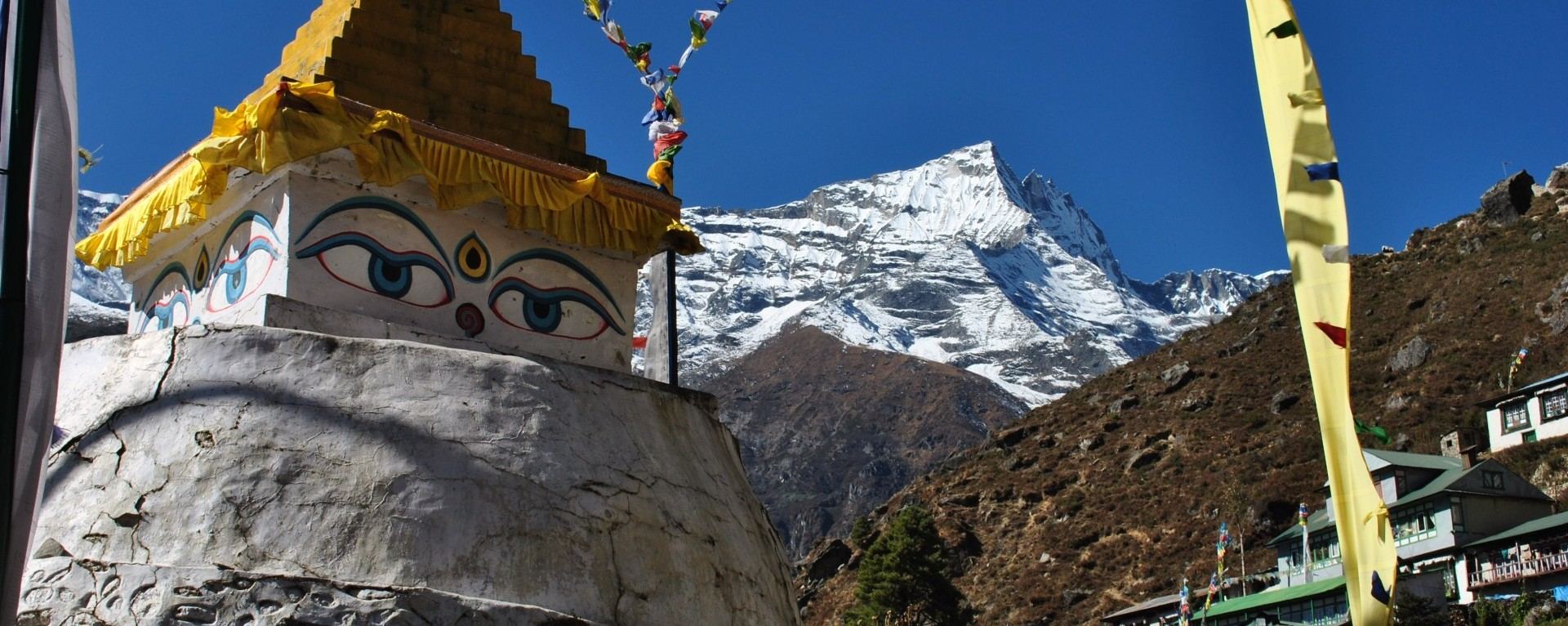 Khumbu trekking, khumbu valley trekking, monastry in everest