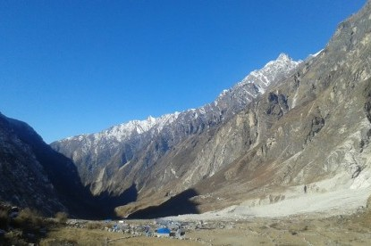 Langtang village after Earhtquake