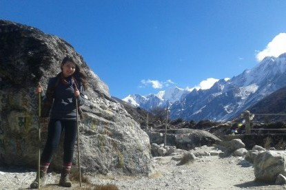 Langtang Valley Trek near kyanji