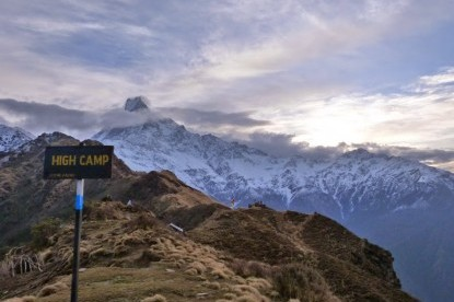 Highest elevation of Mardi himal trek around  4300 meters