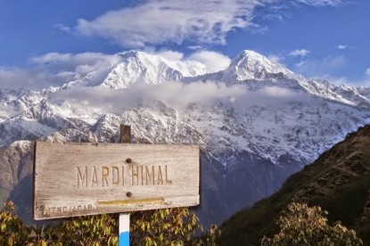 Way to Mardi Himal Base Camp