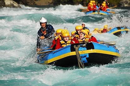 Rafting trip on Trishuli River