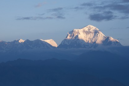 Dhaulagiri in the morning