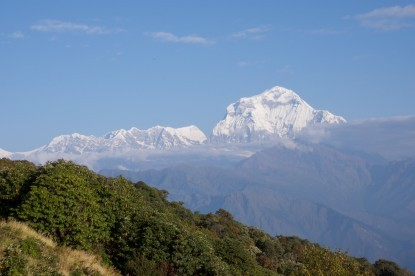 Landscape around Dhaulagiri