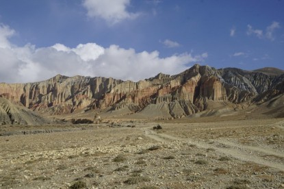 Upper Mustang Trekking (Photo by Jonathan Stewart)