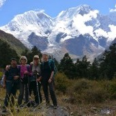 Manaslu trekking Blog : Manaslu Larke pass  to Bhimtang  trek