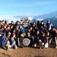 group photo, Ghorepani trekking, ghorepani trek,Ghorepani gate, Ghorepani Poon hIll, Ghorepani trekking nepal