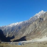 Langtang village after Earhtquake