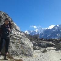 Langtang Valley Trek near kyanji
